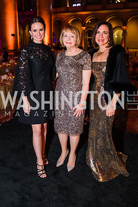 Jennifer Miller, Katherine Schantz, Caroline Coakley.  The Lab School of Washington's 35th Awards Gala. National Building Museum. November 14, 2019