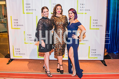 Jennifer Miller, Sarah Bassam, Dia Ruocco, Photo by Alfredo Flores. The Lab School of Washington's 35th Awards Gala. National Building Museum. November 14, 2019