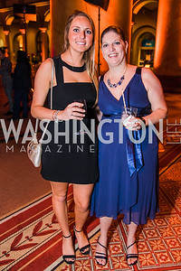 Amanda Seidl, Heather Sills. Photo by Alfredo Flores. The Lab School of Washington's 35th Awards Gala.