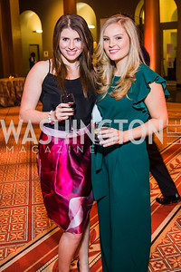 Shani Rosenstock, Shannon Reagan . Photo by Alfredo Flores. The Lab School of Washington's 35th Awards Gala. National Building Museum. November 14, 2019
