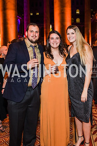 Marshall Feinberg, Christina Mills, Bethany Schroeder,  The Lab School of Washington's 35th Awards Gala. National Building Museum. November 14, 2019 .dng