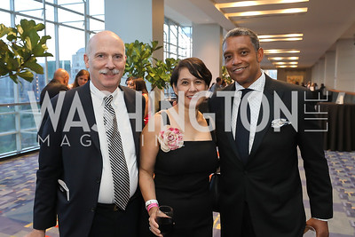 Chairman Phil Mendelson and Ana Harvey, DC Attorney General Karl Racine. Photo by Tony Powell. The RAMMYS 2019. Convention Center. June 30, 2019