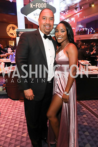 JR Clark and Nicole Valentini. Photo by Tony Powell. The RAMMYS 2019. Convention Center. June 30, 2019