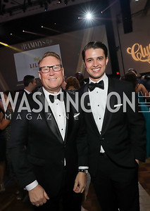 Timothy Lowery, Michael Zingali. Photo by Tony Powell. The RAMMYS 2019. Convention Center. June 30, 2019