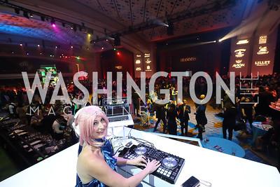 DJ Neekola. Photo by Tony Powell. The RAMMYS 2019. Convention Center. June 30, 2019