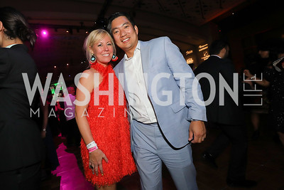 Maggie O'Neill, Anthony Chang. Photo by Tony Powell. The RAMMYS 2019. Convention Center. June 30, 2019