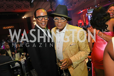 Paul Wharton, Darnell Perkins. Photo by Tony Powell. The RAMMYS 2019. Convention Center. June 30, 2019