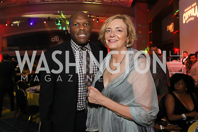 Ritz Carlton's Michael Matthews and Lorna Kirwan. Photo by Tony Powell. The RAMMYS 2019. Convention Center. June 30, 2019