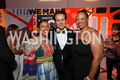 Ashley Etienne, Vince dePaul, Nicole Venable. Photo by Tony Powell. The RAMMYS 2019. Convention Center. June 30, 2019
