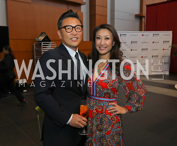 Robert Kang and Eun Yang. Photo by Tony Powell. The RAMMYS 2019. Convention Center. June 30, 2019