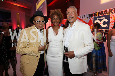 Darnell Perkins, Daphne and Bill Jarvis. Photo by Tony Powell. The RAMMYS 2019. Convention Center. June 30, 2019