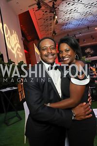Leon Harris and Dawn Lomax Harris. Photo by Tony Powell. The RAMMYS 2019. Convention Center. June 30, 2019
