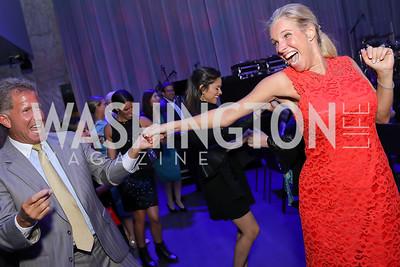 Melanie Walser, Bobby Ourisman. Photo by Tony Powell. The REACH Grand Opening. September 6, 2019