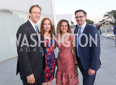 Bob Myhill, Eileen Andrews, Kara and Tim O'Leary. Photo by Tony Powell. The REACH Grand Opening. September 6, 2019
