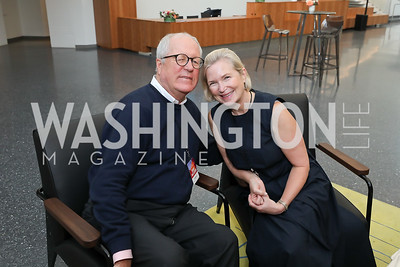 Jim and Heather Johnson. Photo by Tony Powell. The REACH Grand Opening. September 6, 2019