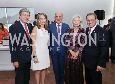 Sen. Roy Blunt and Abigail Blunt, Joel Shapiro, Noemi and Michael Neidorff. Photo by Tony Powell. The REACH Grand Opening. September 6, 2019