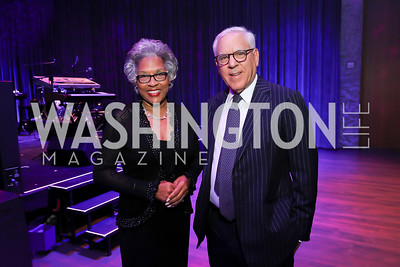 Rep. Joyce Beatty, David Rubenstein. Photo by Tony Powell. The REACH Grand Opening. September 6, 2019