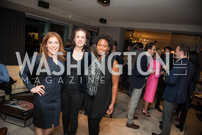 Jayne Sandman, Dale Nirvani Pfeifer, Jade Floyd,  Washington Life, Tech Issue Party, One Hill South, March 4, 2019, photo by Ben Droz.