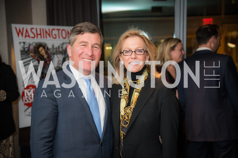Charles Rivkin, Susan Tolson, Washington Life, Tech Issue Party, One Hill South, March 4, 2019, photo by Ben Droz.