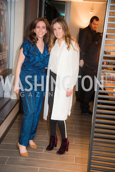 Kate Glantz, Rebecca Yarbrough, Washington Life, Tech Issue Party, One Hill South, March 4, 2019, photo by Ben Droz.