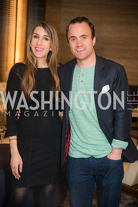 Tara Maller, Kevin Cirilli, Washington Life, Tech Issue Party, One Hill South, March 4, 2019, photo by Ben Droz.