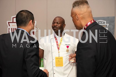 White House Chef, Andre Rush. Photo by Yasmin Holman. Washington Redskins Lunch 2019. Washington Hilton. 08.28.19