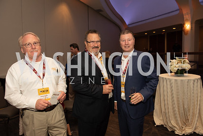George Metcalf, Jeff Beard, Aubrey Jones. Photo by Yasmin Holman. Redskins Welcome Home Lunch 2019. Washington Hilton. 08.28.19