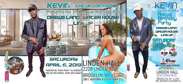 Sat. Apr. 6 (BOOKED) KEVIN & THE UP TOP FAMILY