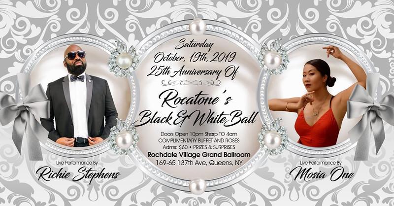 Sat. Oct. 19 (ROCATONE BLACK & WHITE)