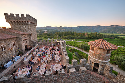 Patron Dinner at Castello di Amorosa