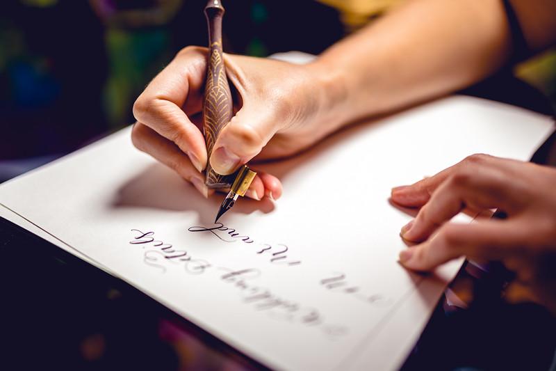 Caity Opelka - Calligrapher