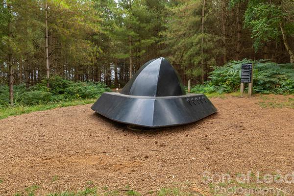 UFO in Rendlesham Woods - Suffolk