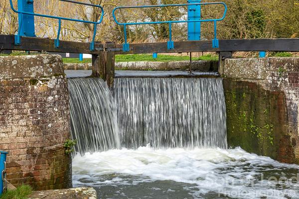 Lock Gates on the River Chelmer - Essex