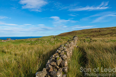 The wall - Unish The Isle of Skye
