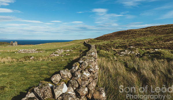 The wall - Unish The Isle of Skye