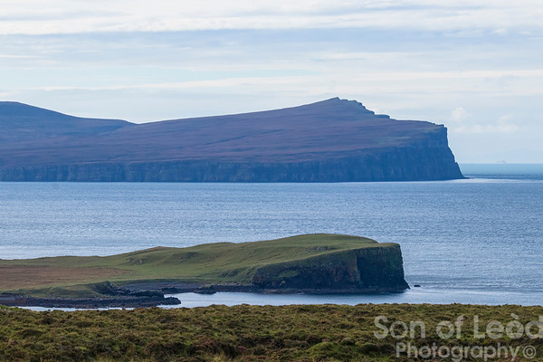 A walk to the ruins of Unish in Waternish