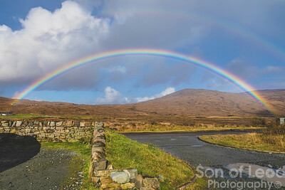 Double rainbow at Sligachan
