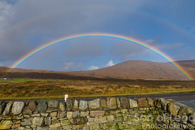 Double rainbow at Sligachan