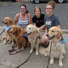Comfort Dogs with friends in Dayton Ohio