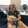 Mercy Comfort Dog (Our Savior Lutheran Church and School- Louisville, Kentucky) Comforts FEMA Worker at Dayton Children's Hospital_2