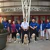 LCC K-9 Comfort Dogs at Dayton Convention Center in Dayton, Ohio - Jared, Anna, Rosie