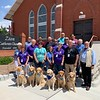 LCC K-9 Comfort Dogs at Zion Lutheran Church in El Paso, Texas - Abner, Martha, Joy, Phoebe, Damaris and Ruthie