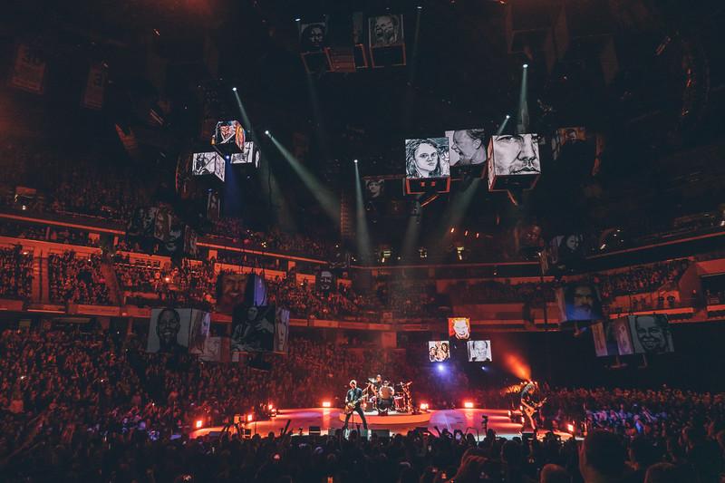 Metallica Visits Banker's Life Fieldhouse – Dave Wegiel