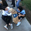 LCC K-9 Comfort Dogs at Mountain View Elementary School Park being present for those affected by the Saugus HS Shooting- Santa Clarita, CA