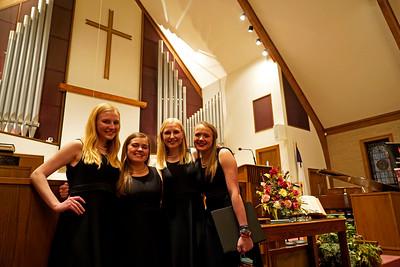 Concert Choir girls