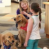 Martha Comfort Dog with a Friend at Music City Mall