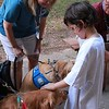 Abner and Martha Comfort Dogs in Midland, Texas