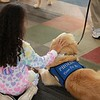 Phoebe Comfort Dog at Blackshear Magnet Elementary - Odessa, Texas