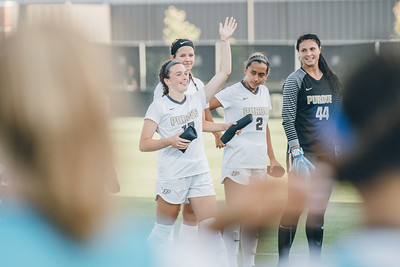 Purdue soccer takes on Georgia on August 22, 2019 at Folk Field