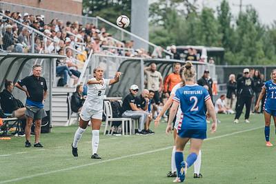 Purdue soccer takes on Kansas on September 8, 2019 at Folk Field.